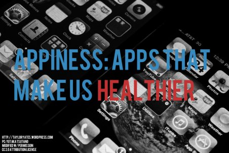 Apps that make us healthier