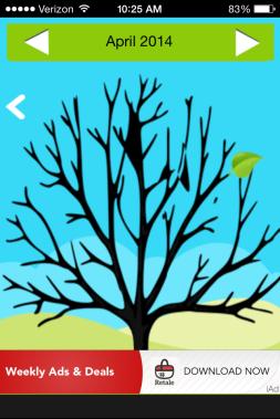 Gratitude Tree Main Page