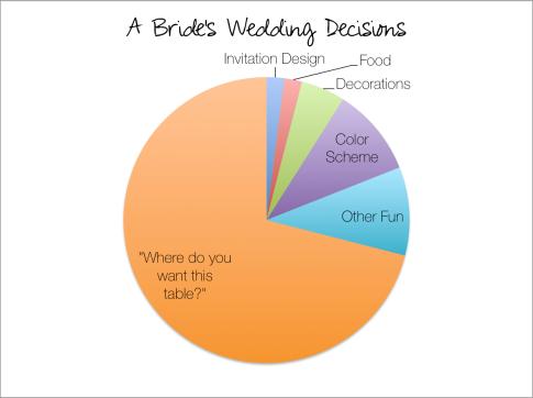 Bride's Wedding Decisions