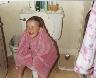 Toddler Taylor At Bathtime
