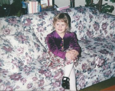 Toddler Taylor Dressed Up