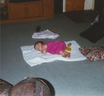 Baby Taylor Napping