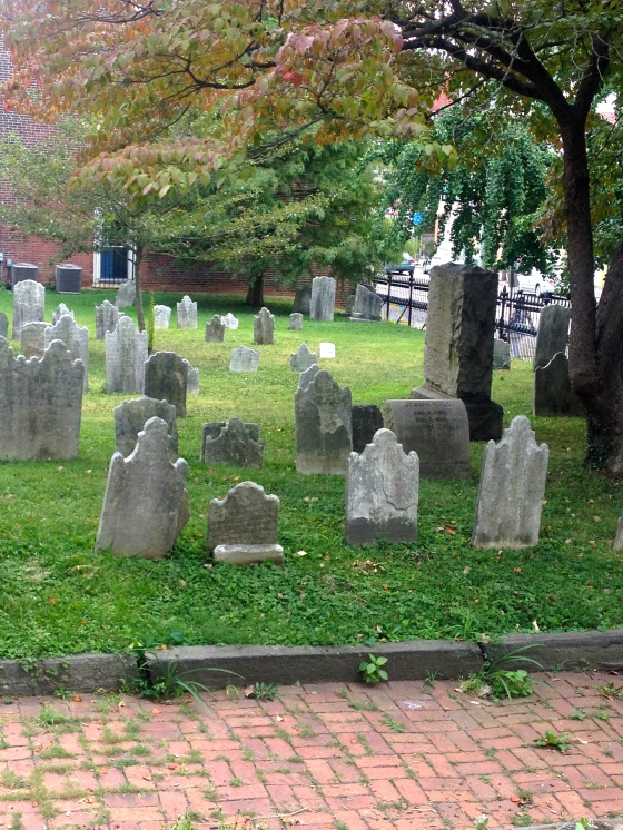 Cemetery in Germantown Pennsylvania