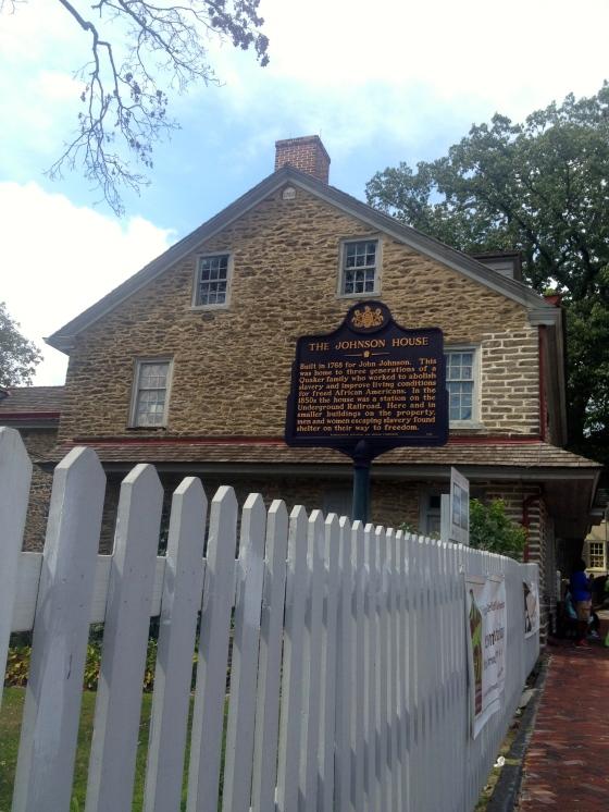 The Johnson Mansion Philadelphia Pennsylvania